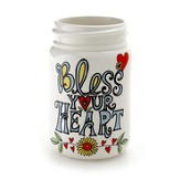 Bless Your Heart Mason Jar