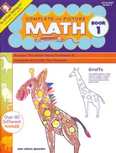 Complete the Picture Math Book 1