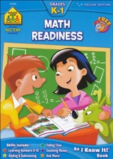 Math Readiness, Deluxe Edition, Grades K-1