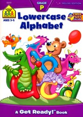 Lowercase Alphabet, Ages 3-5
