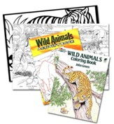 Wild Animals, Dover Coloring Box