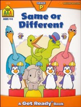 Same or Different, Ages 4-6, A Get Ready Workbook