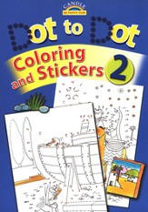 Dot To Dot, Coloring and Stickers 2