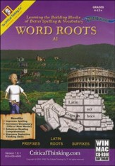 Word Roots, Level A1 on CD-ROM