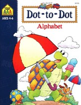 Dot-to-Dot Alphabet, Ages 4-6