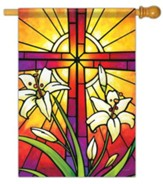 Easter Window Flag, Large
