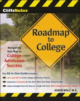CliffsNotes Roadmap to College: Navigating Your Way to College Admission Success - Slightly Imperfect