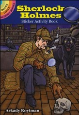 Sherlock Holmes Sticker Activity Book