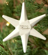 God Is For You Star Ornament
