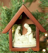 Nativity Ornament, I John 3:16