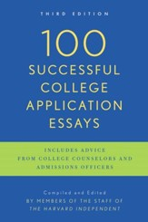 100 Successful College Application Essays (Updated, Third Edition) - eBook