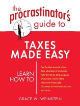The Procrastinator's Guide to Taxes Made Easy - eBook