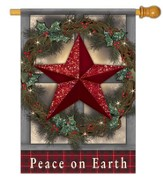 Peace On Earth (Star), Large Flag