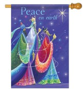 Peace On Earth (Three Kings), Large Flag