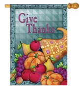 Give Thanks (Cornucopia), Large Flag