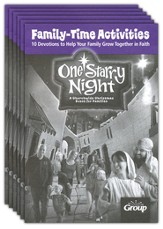 One Starry Night Family Time Devotions booklets, 10 Pack