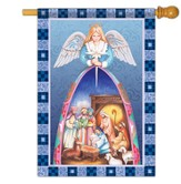 Nativity Angel, Large Flag