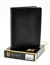 ESV Ryrie Study Bible, Black Genuine Leather