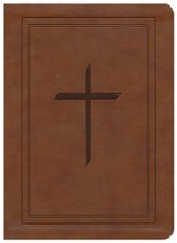 ESV Ryrie Study Bible, Brown Soft-Touch, Thumb-Indexed