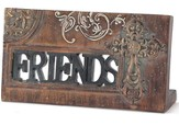 Friends Plaque with Cross