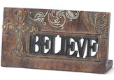 Believe Plaque with Cross