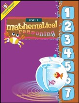 Mathematical Reasoning, Level A, Grade K
