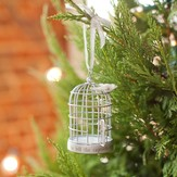The Lord Has Sent Me, Dove and Cage Ornament