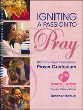 Igniting a Passion to Pray - Teacher Book  - Slightly Imperfect