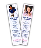 4 Steps of Prayer Bookmark - Children, 20 pack