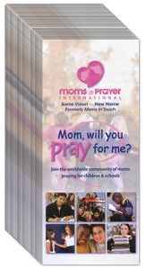Moms in Prayer Brochure - English, 40 Pack