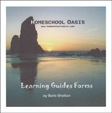 Homeschool Oasis Learning Guides Forms CD-Rom