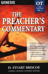 The Preacher's Commentary Vol 1: Genesis