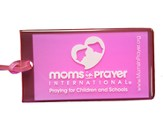 Moms in Prayer Luggage tag