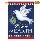 Peace On Earth, Dove Flag, Large