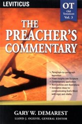The Preacher's Commentary Vol 3: Leviticus