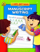 Manuscript Writing, Ages 5-7