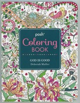 God is Good Adult Coloring Book