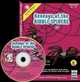 Revenge of the Riddle Spiders A1 (Grades PreK-3) on CD-ROM