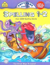 Spelling 1-2 CD-ROM with Workbook