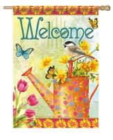 Welcome Blooms Flag, Large