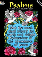 Psalms Stained Glass Coloring Book