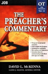 The Preacher's Commentary Volume 12:Job