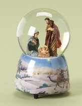 Musical Waterglobe, Holy Family