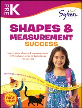 Pre K - Shapes & Measurement Success (Sylvan Workbooks)