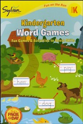 Kindergarten Word Games - Fun on the Run Language Arts
