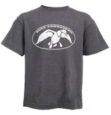 Duck Commander Shirt, Gray, Youth Medium