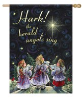 Hark The Herald Angels Sing Flag, Large