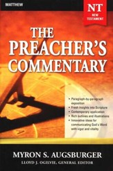The Preacher's Commentary: Volume 24 Matthew