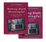 Making Math Meaningful, Level 1