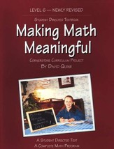 Making Math Meaningful Level 6